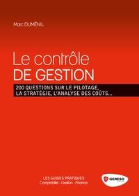 Checkpointfrance.fr Le contrôle de gestion - 200 questions sur le pilotage, la stratégie, l'analyse des coûts... Image