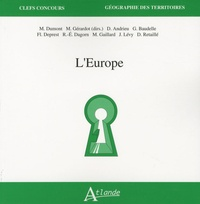 Marc Dumont et Maie Gérardot - L'Europe.