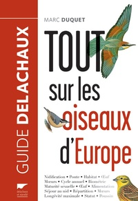 Marc Duquet - Tout sur les oiseaux d'Europe.