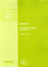 Marc Durand - Agrégation Education physique et sportive - Concours externe.