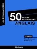 Marc-Emmanuel Konigson - Anglais - 50 règles essentielles.