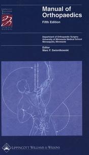 Deedr.fr Manual of Orthopaedics Image