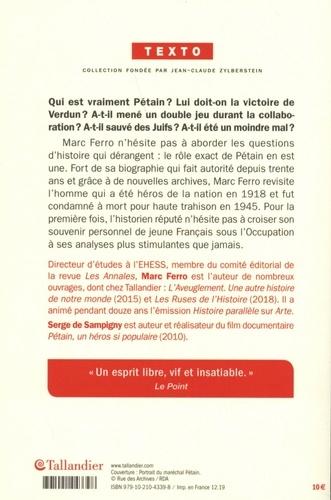 Pétain. Les leçons de l'histoire