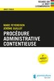 Marc Feyereisen et Jérôme Guillot - Procédure administrative contentieuse.