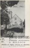Marc Forissier et P. Chauquet - 1563-1963, quatre cents ans d'histoire protestante à Bellocq - Histoire de l'église réformée de Bellocq.