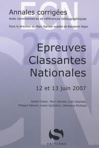 Epreuves Classantes Nationales- 12 et 13 Juin 2007 - Marc Garnier | Showmesound.org