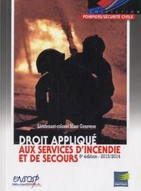 Cjtaboo.be Droit appliqué aux services d'incendie et de secours 2013-2014 Image
