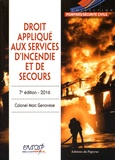 Marc Genovese - Droit appliqué aux services d'incendie et de secours.