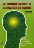 Marc-Gérald Choukroun - La communication et l'éducation du patient.