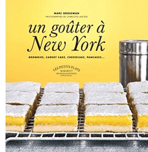 Un goûter à New York. Brownies, carrot cake, cheesecake, pancakes...