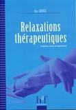 Marc Guiose - Relaxations thérapeutiques.