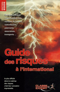 Marc Hoffmeister - Guide des risques.