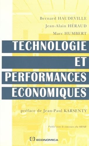 Technologie et performances économiques