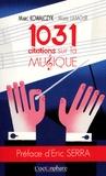 Marc Kowalczyk et Muriel Lamour - 1031 citations sur la musique.