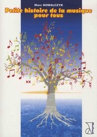 Marc Kowalczyk - Petite histoire de la musique pour tous.