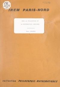 Marc Krasner et Jean Dieudonné - La pluralité et l'infini dans la philosophie et la mathématique grecques - Séminaire de philosophie et mathématiques, séance du 31 janvier 1979.