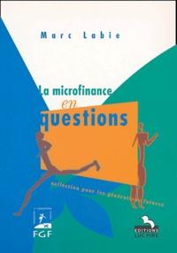 Marc Labie - La microfinance en questions - Limites et choix organisationnels.