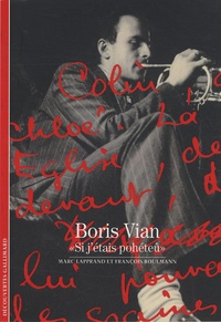 """Marc Lapprand et François Roulmann - Boris Vian - """"Si j'étais pohéteû""""."""