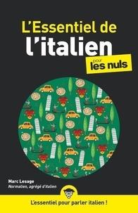 Marc Lesage - L'essentiel de l'italien pour les nuls.