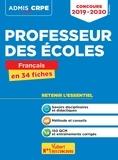 Marc Loison - Concours Professeur des écoles (CRPE) - Français en 34 fiches.