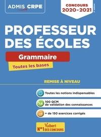 Marc Loison - Concours professeur des écoles - Grammaire Toutes les bases.