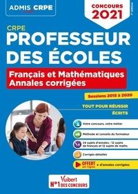 Marc Loison - Concours professeur des écoles - Annales corrigées français et mathématiques.