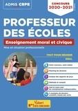 Marc Loison et Bénédicte Delavenne - Enseignement moral et civique - Mise en situation professionnelle - Concours professeur des écoles.