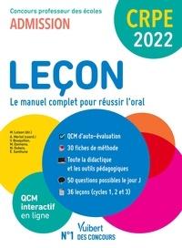 Marc Loison et Aline Merlot - Leçon - Le manuel complet pour réussir à l'oral.