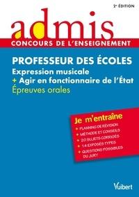 Marc Loison et Dominique Catteau - Professeur des écoles Expression musicale + Agir en fonctionnaire de l'Etat - Epreuves orales.