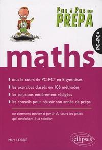 Marc Lorré - Mathématiques PC-PC*.