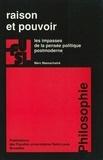 Marc Maesschalck - Raison et pouvoir - Les impasses de la pensée politique postmoderne.