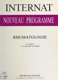 Marc Marty et Sylvain La Batide-Alanore - Internat, nouveau programme : Rhumatologie.