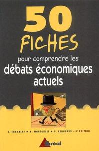 Marc Montoussé - 50 fiches pour comprendre les débats économiques actuels.