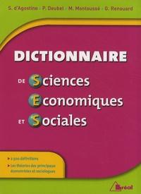 Dictionnaire de sciences économiques et sociales - Marc Montoussé |
