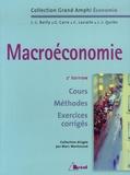 Marc Montoussé - Macroéconomie - Cours, Méthodes, Exercices corrigés.
