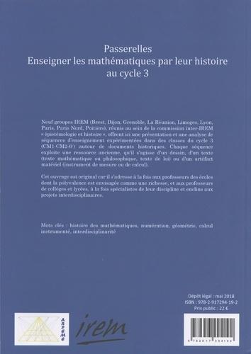 Passerelles. Enseigner les mathématiques par leur histoire au cycle 3