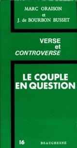 Marc Oraison et Jacques de Bourbon Busset - .