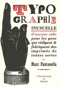 Typographie inusuelle - Daucune aide pour les gens qui rédigent & fabriquent des imprimés de toutes sortes.pdf