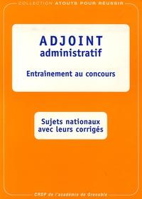 Marc Paquien et Robert Briatte - Adjoint administratif - Entraînement au concours.