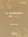 Marc Parmentier - Le vocabulaire de Locke.