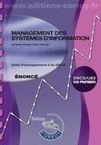 Marc Pasquet - Management des systèmes d'information énoncé.
