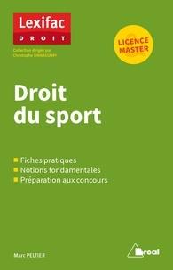 Marc Peltier - Droit du sport.