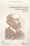 Marc Penin - Charles Gide (1847-1932) - L'esprit critique.