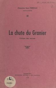 Marc Perroud - La chute du Granier - Critique des sources.