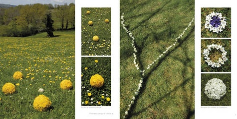 Land art de printemps