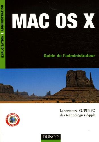 Marc Pybourdin et Jordane Cau - Mac OS X - Guide de l'administrateur.