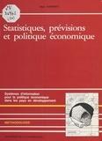 Marc Raffinot - Statistiques, prévisions et politique économique - Systèmes d'information pour la politique économique dans les pays en développement.