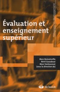 Marc Romainville et Rémi Goasdoué - Evaluation et enseignement supérieur.