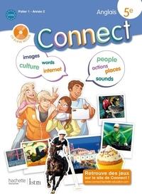 Marc Roussel et Wendy Benoit - Anglais 5e Connect Palier 1 année 2. 1 CD audio MP3
