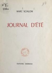 Marc Scialom - Journal d'été.